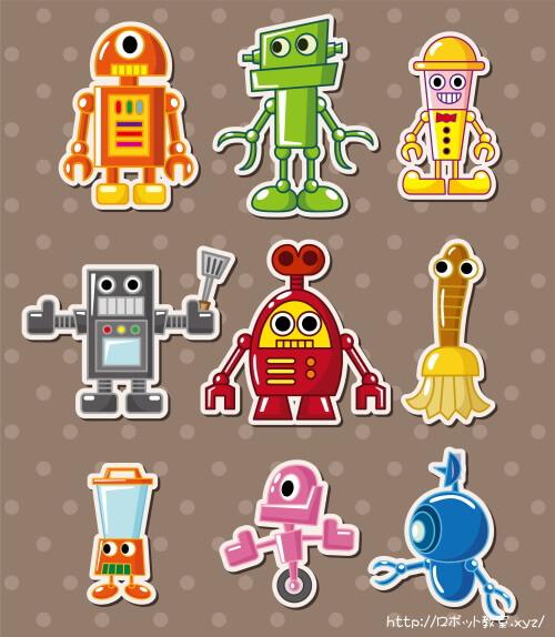 男の子が大好きなロボットのおもちゃ