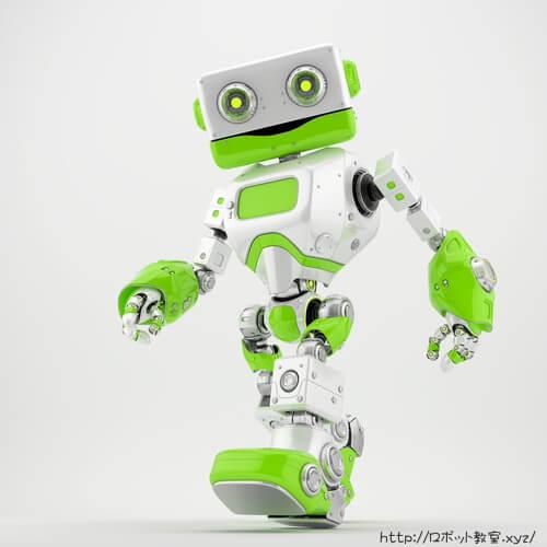 歩く二足歩行ロボット