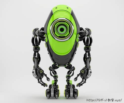画像認証を備えた最新ロボット