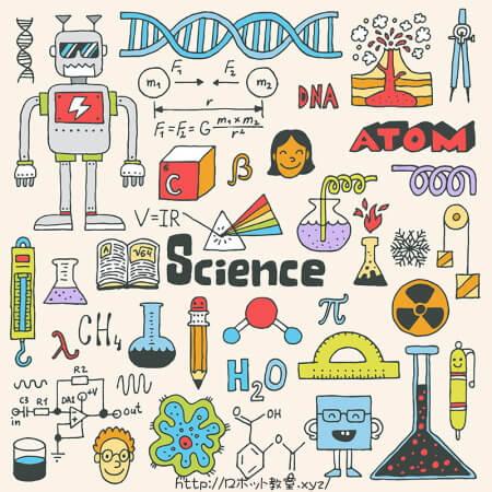サイエンス・科学に関するイラスト