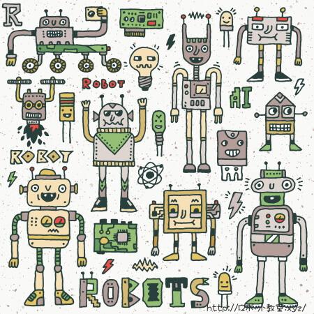 中学生が描いたロボットのイラスト
