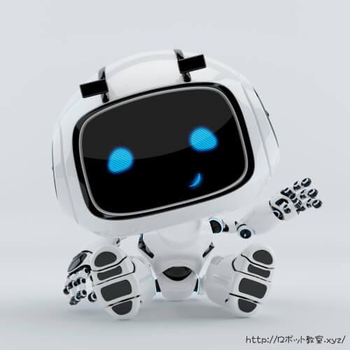 キュートな人型ロボット