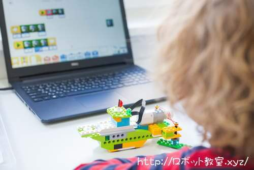ブロックをプログラミングで動かす。プログラミング教育はおもしろい!