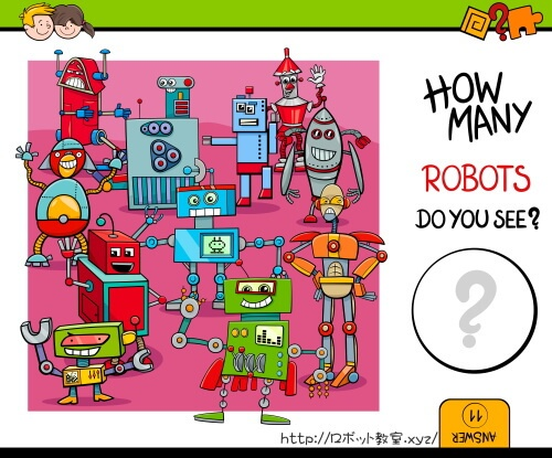 ROBOTS DO YOU SEE?