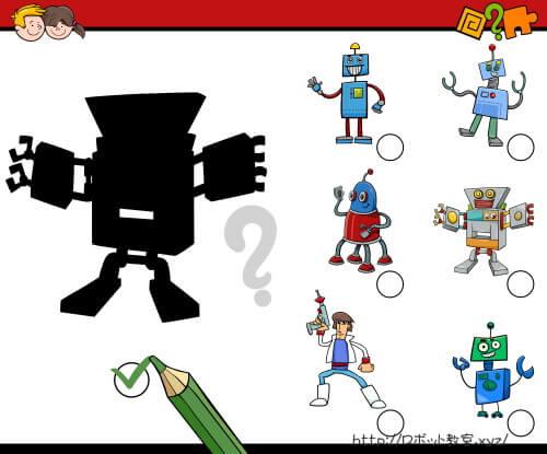 この影はどのロボットのものでしょうか?