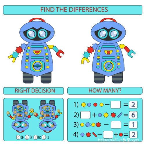 ロボット教室のテキスト