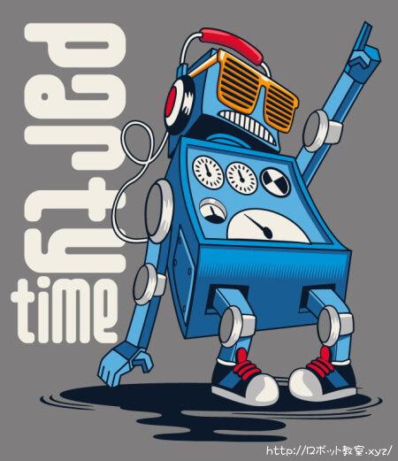 ダンスする二足歩行ロボット