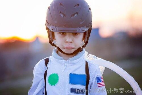 NASAに憧れる子ども