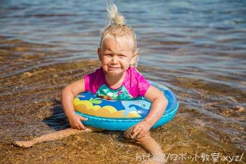 水を怖がる子ども。習い事を辞めたい!子供がそう言ったときの親の対応は?
