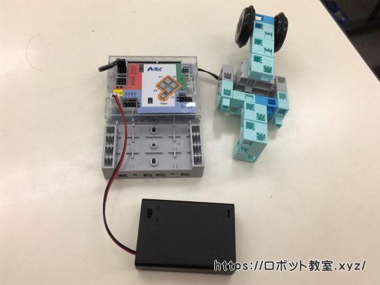 ロボットプログラミング教室の体験授業