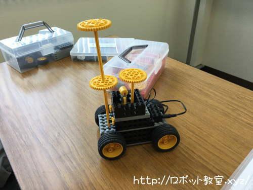 はじめてアレンジしたロボット