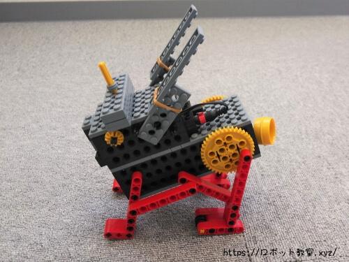 ヒューマンアカデミーロボット教室で6才の女の子が作ったロボット