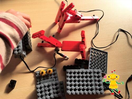 ロボット教室の効果を実感