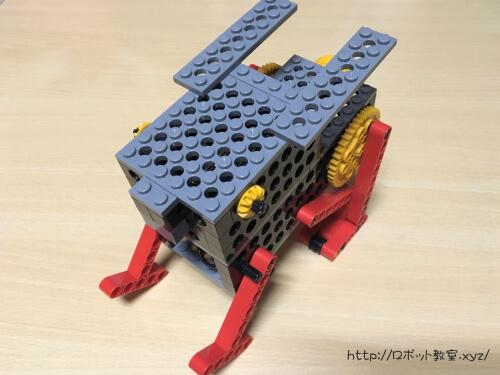 此花区ロボットプログラミング教室で小学生が作ったロビット