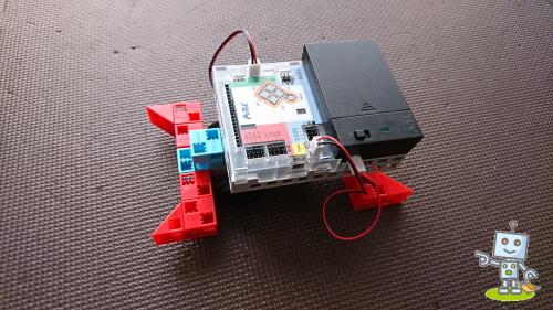 自考力キッズで作ったロボットプログラミング