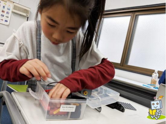 東京都北区のロボットプログラミング教室の様子