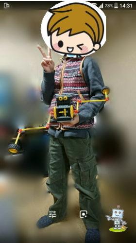 ヒューマンアカデミーロボット教室つくば教室に通う小学生