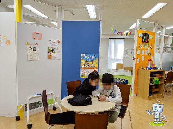 北区赤羽のロボットプログラミング教室の様子