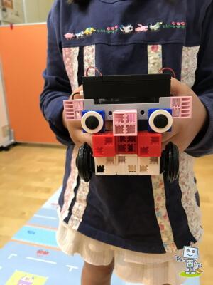横浜自考力キッズ、小学2年生の女の子の感想