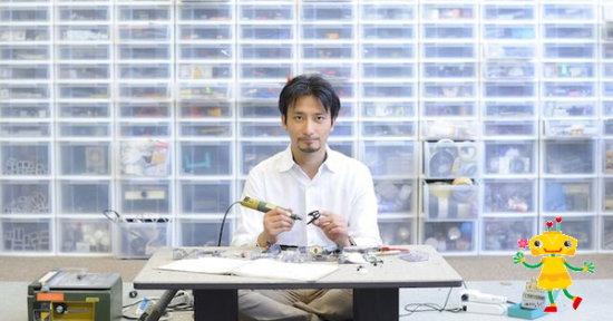 ロボットクリエーター高橋先生